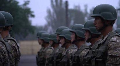 키르기즈 특수 부대 복무 후 하루