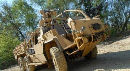 Supacat HMT Extenda特种部队装甲车
