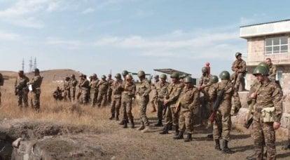 アルメニア国防省は、カラバフ紛争地帯でのテロリストの捕獲を発表しました