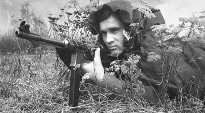 The use of German captured submachine guns in the USSR