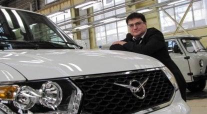 SUV并非诞生......对于新的UAZ PATRIOT有什么期待
