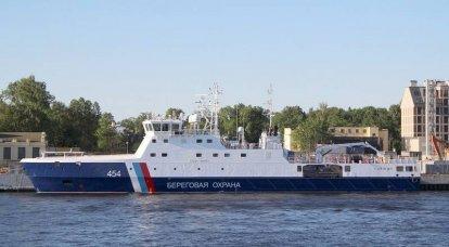 Rus sınır muhafızları 22120 projesinin beşinci devriye gemisini aldı