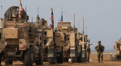 इराक में, अज्ञात ने अमेरिकी सैन्य अड्डे के आपूर्ति स्तंभ पर हमला किया