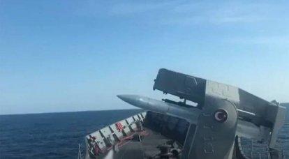 """É relatado que a fragata da Marinha egípcia """"dirigiu"""" o navio de guerra turco da área de exercício"""