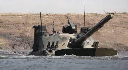 """Imprensa indiana: Nova Delhi está considerando comprar da Rússia """"tanques leves"""" """"Sprut-SDM1"""""""