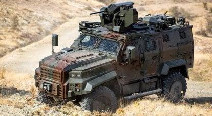 轻装甲4x4。 3部分