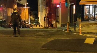 이스탄불에서 칼을 든 신원 불명의 사람이 러시아 시민을 공격했다