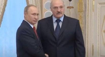 """""""俄罗斯将应要求提供协助"""":卢卡申科同意普京的意见"""