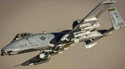 전설적인 공격기 A-10은 글로벌 업그레이드를 거칩니다.