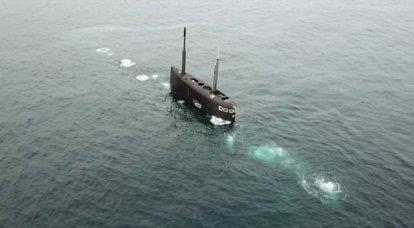 """A frota do mar Negro do DEPL """"Kolpino"""" realizou um mergulho em alto mar com """"deitado no chão"""""""