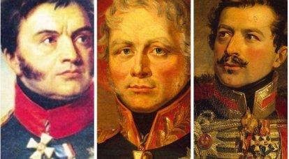 """Russische Partisanen im Jahre 1812. """"Fliegende Abteilungen"""" regulärer Truppen"""