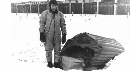 Le ragioni dei tentativi di abbandonare l'uso della tuta spaziale in volo Yu.A. Gagarin