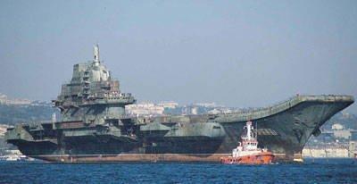 中国はVaryag航空機運搬巡洋艦の修復を完了
