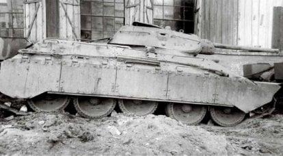 带盔甲的游戏。 T-34放大技术