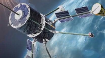 """开始实施创建全球卫星星座""""Sphere""""的计划的时间"""