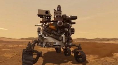 """捷克媒体说,捷克的技术将有助于回答""""火星上有生命吗?""""的问题。"""