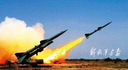 ソビエトC-75防空システムの外国コピー(2の一部)