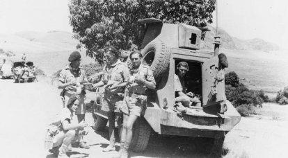マダガスカルの占領。 控えめだが重要な第二次世界大戦の戦い