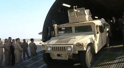 Los suministros militares estadounidenses a Ucrania se disparan