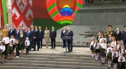ベラルーシは独立記念日を祝います:おめでとうございます