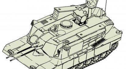 AGDS / M1:Abrams戦車を基にした自走式対空砲