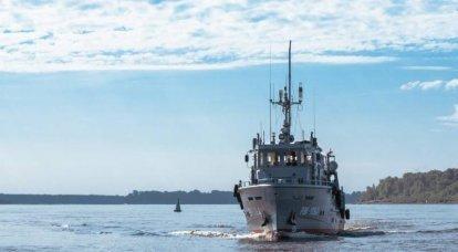 नाव परियोजना 23040। छोटे बचाव बड़े बेड़े
