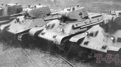坦克装甲行业。 战前苏联的成就