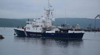 """프로젝트 10410 """"Svetlyak""""의 XNUMX 척의 국경 순찰선이 블라디보스토크에서 해상 시험에 참여했습니다."""