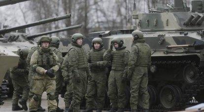Los paracaidistas de Pskov recibieron el séptimo batallón de equipo militar.