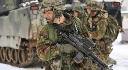 Multitud de la OTAN