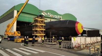 El submarino jefe español Isaac Peral del proyecto S-80 Plus fue botado 16 años después de la colocación