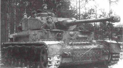 D'après les souvenirs du pétrolier soviétique qui a combattu sur le tigre allemand