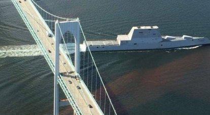 米国では、ズムウォルト級のステルス駆逐艦の耐航性についての議論があります