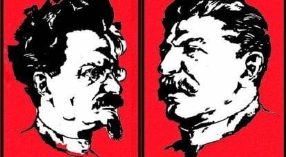 Attraverso rivoluzioni e guerre: con la penna di Trotsky e la linea stalinista