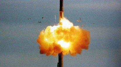 """पूर्ण परीक्षण ICBM RS-26 """"फ्रंटियर"""""""