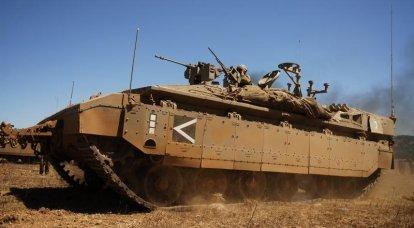 BTR Namer: il corazzato per il trasporto di corazzati più pesante al mondo