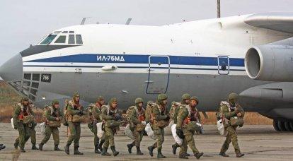 Modernización de las tropas aerotransportadas: nuevas intenciones.