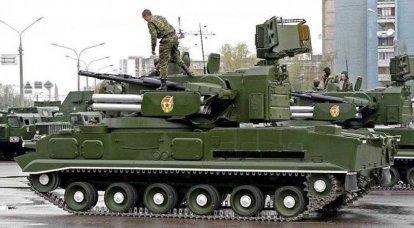 """防空导弹系统""""通古斯卡"""""""