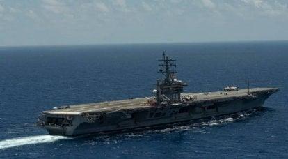 美国正在讨论海军最古老的航母之一的密集作战的怪异之处