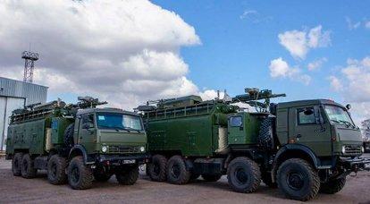 最新のEW Palantin複合施設は、西部軍事地区での演習で最初に使用されました