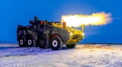 """BTR """"Barys 8x8"""". Vantaggi della collaborazione internazionale"""