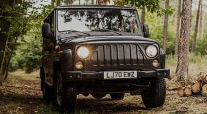 In the Czech Republic, the UAZ electric car was released earlier than in Russia