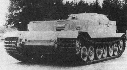 修理和恢复车辆Bergepanzer Tiger(P),德国