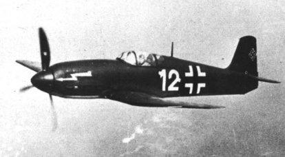 전투 항공기. 하 인켈의 매력적인 도발