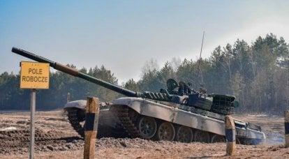 """Modernización con blindaje """"desnudo"""": el ejército polaco domina los tanques T-72M1R"""