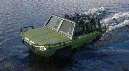 """Proyecto de un vehículo anfibio de la planta """"KRIZO"""""""