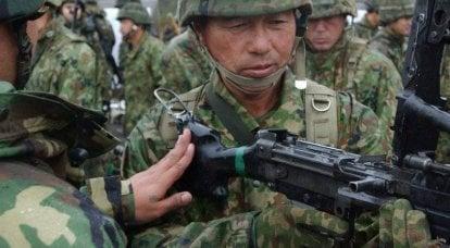 Forces spéciales japonaises - une force qui n'existe pas officiellement