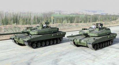 """A Turquia está tentando resolver o problema com os motores dos tanques """"Altai"""""""