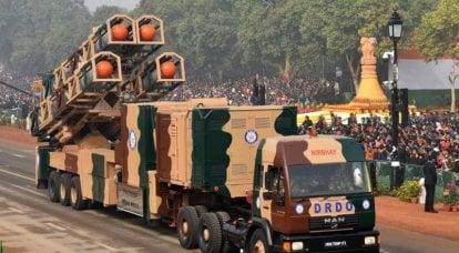 인도 핵 삼극관. 지상 및 공기 구성 요소