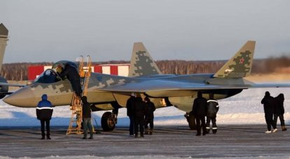 The first serial Su-57 was transferred to the aviation regiment of the Southern Military District